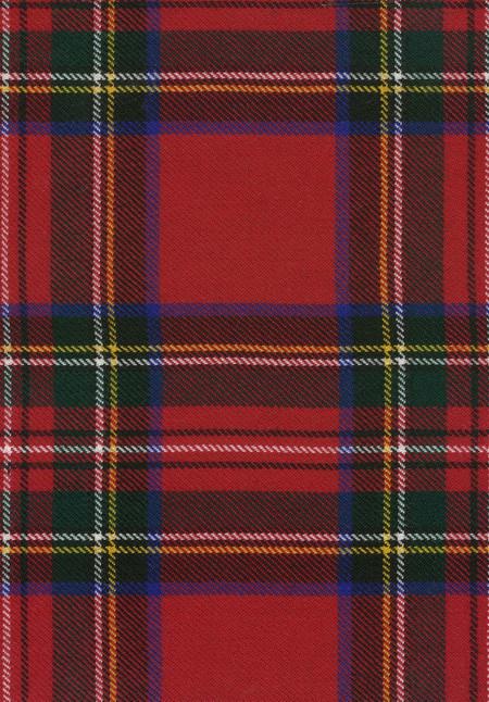 Stewart Royal Modern Tartan Fabric Swatch