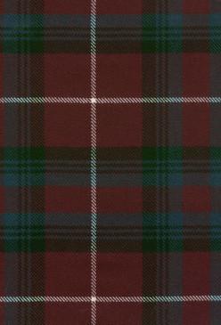 Stuart Bute Modern Tartan Fabric Swatch