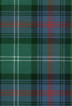 Sutherland Old Ancient Tartan Fabric Swatch