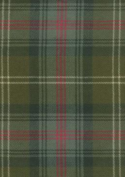 Sutherland Old Weathered Tartan Fabric Swatch