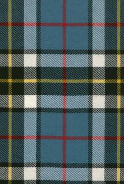 Thomson Blue Tartan Fabric Swatch
