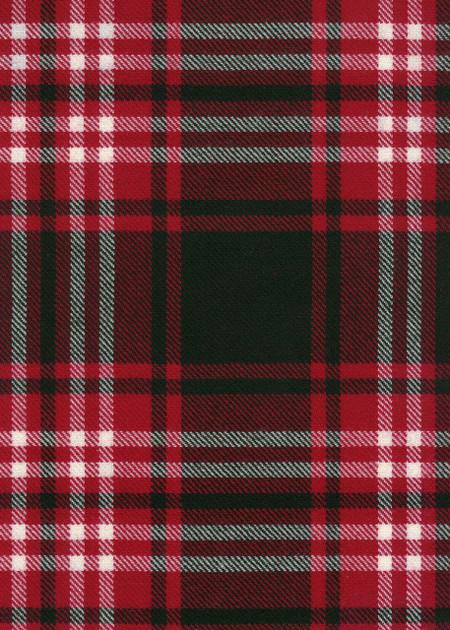 Tweedside Modern Tartan Fabric Swatch