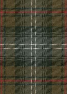Urquhart Weathered Tartan Fabric Swatch