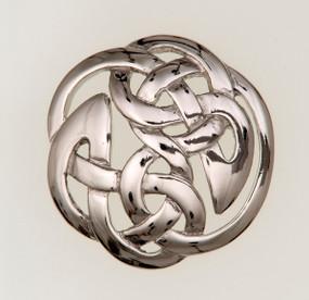 Lindisfarne Knotwork Brooch