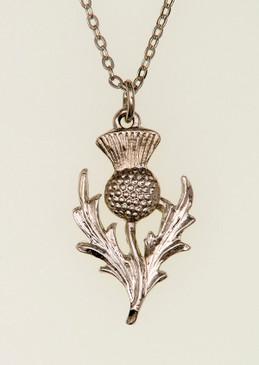 Scottish Thistle Pendant B