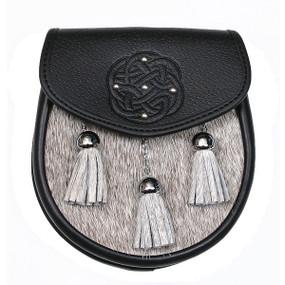 Semi-Dress Sporran Round Celtic Knot