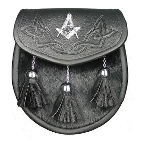 Semi-Dress Sporran Masonic Crest