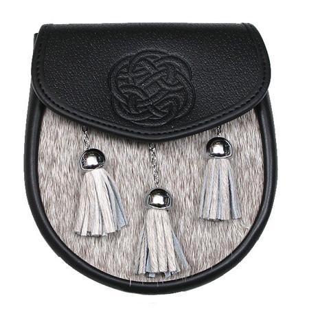 Semi-Dress Sporran Plain Celtic Knot