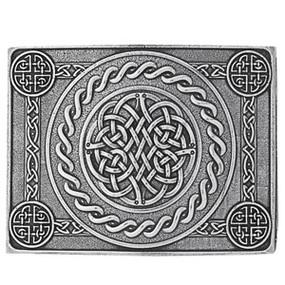 Celtic Knot Dome Belt Buckle