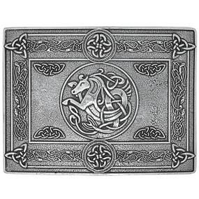 Celtic Horse Belt Buckle
