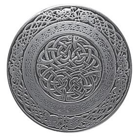 Circular Celtic Belt Buckle