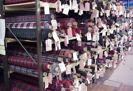 Fabric Swatch Lightweight Tartan