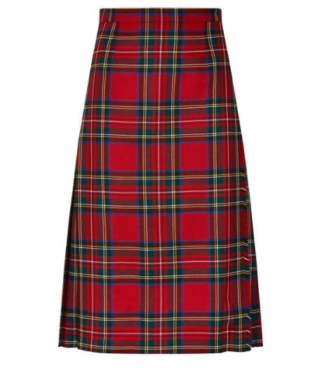 Locharron Of Scotland LADIES TARTAN KILTED SKIRT