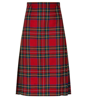 Locharron of Scotland LADIES TARTAN KILTED SKIRT