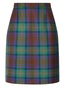 Locharron of Scotland LADIES STRAIGHT SKIRT Lightweight