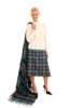 Locharron of Scotland LADIES DEEP PLEATED SEMI SKIRT