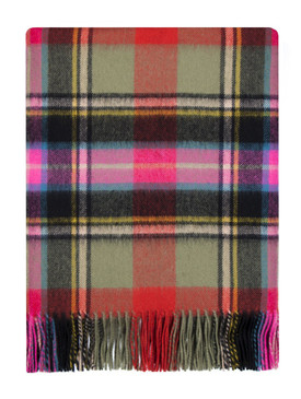 Bruce of Kinnaird Ancient Lambswool Blanket