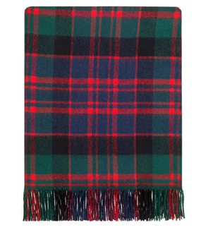 MacDonald Clan Modern Lambswool Blanket