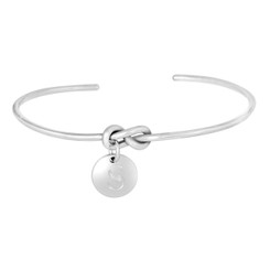 Forget Me Knot Cuff Bracelet