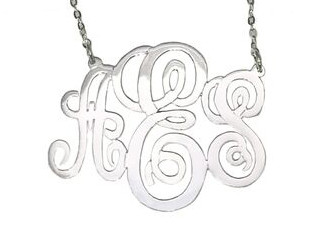 Willow Monogram Necklace
