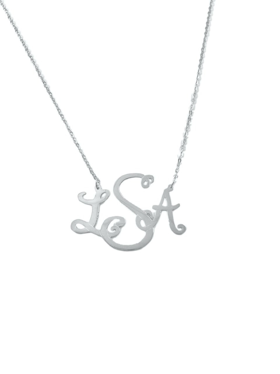 0d81e44f0 Avery Monogram Necklace. Price: $137.50. Image 1