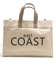 East Coast/ West Coast Canvas Tote