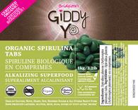 NEW! ORGANIC SPIRULINA TABS (TAIWAN) 1kg BULK Certified Organic