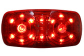 AP01R LED OUTLINE MARKER RED 10 LED MULT