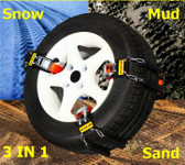 Car Chain For Snow, Mud & Sand