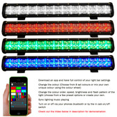 23 Inch Color Change Light Bar – 72 Watt