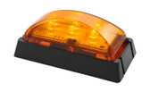 AP51MAB LED FEOM AMBER BLK/BASE 10PACK