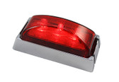 AP51MRC LED REOM RED CHROME/BASE 10PACK
