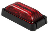 LED REAR OUTLINE MARKER RED BLK/BASE 10P