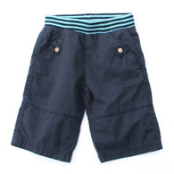 3/4 Length Shorts in Navy