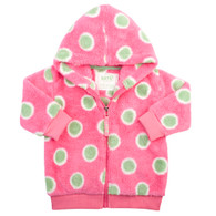 Spotty Zip-Through Fleece