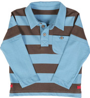 Stripy Polo Shirt