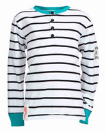 EMIL 36 White Stripe T-Shirt