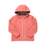 KIND 07 Waterproof Softshell Jacket in Coral