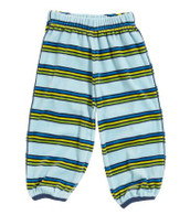 PLAY Stripy Velour Trousers for Baby Boys