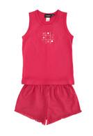 Red Spot Pyjama Set