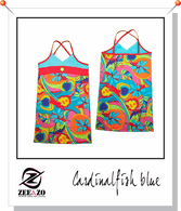 Cardinalfish Blue Beach Dress