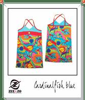 Cardinalfish Blue Beach Dress