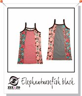 Elephantnosefish Black Beach Dress