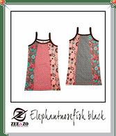 Elephantnosefish Black Beach Dress