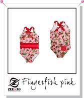 Finger Fish Pink/Red Swimsuit