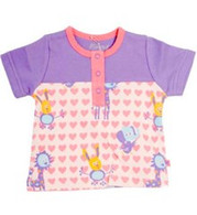 LITTLE 15 T-Shirt in Purple