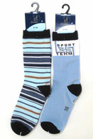 Marine Blue 2-Pack Socks Set