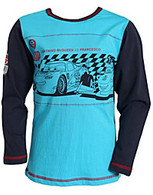 DISNEY'S CARS 13 Lightening McQueen & Francesco T-Shirt in Blue