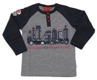 DISNEY'S CARS 11 Lightening McQueen & Francesco T-Shirt in Grey