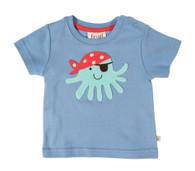 Baby Octopus Appliqué T-Shirt